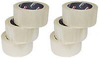 Скотч Бригадир упаковочный 48 мм х 200 м (62334015) (6 шт./уп.)