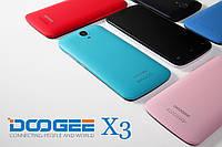 """Смартфон doogee x3 памяти 1/8, 4.5"""" HD (854×480),батарея 1800 мАч , 4-ядерный. Разные цвета в наличии"""