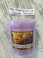 "Ароматическая свеча ""Лаванда-лимон"" Yankee Candle"