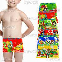 Детские трусы боксеры бамбук Djan D011 9-12. В упаковке 6 штук