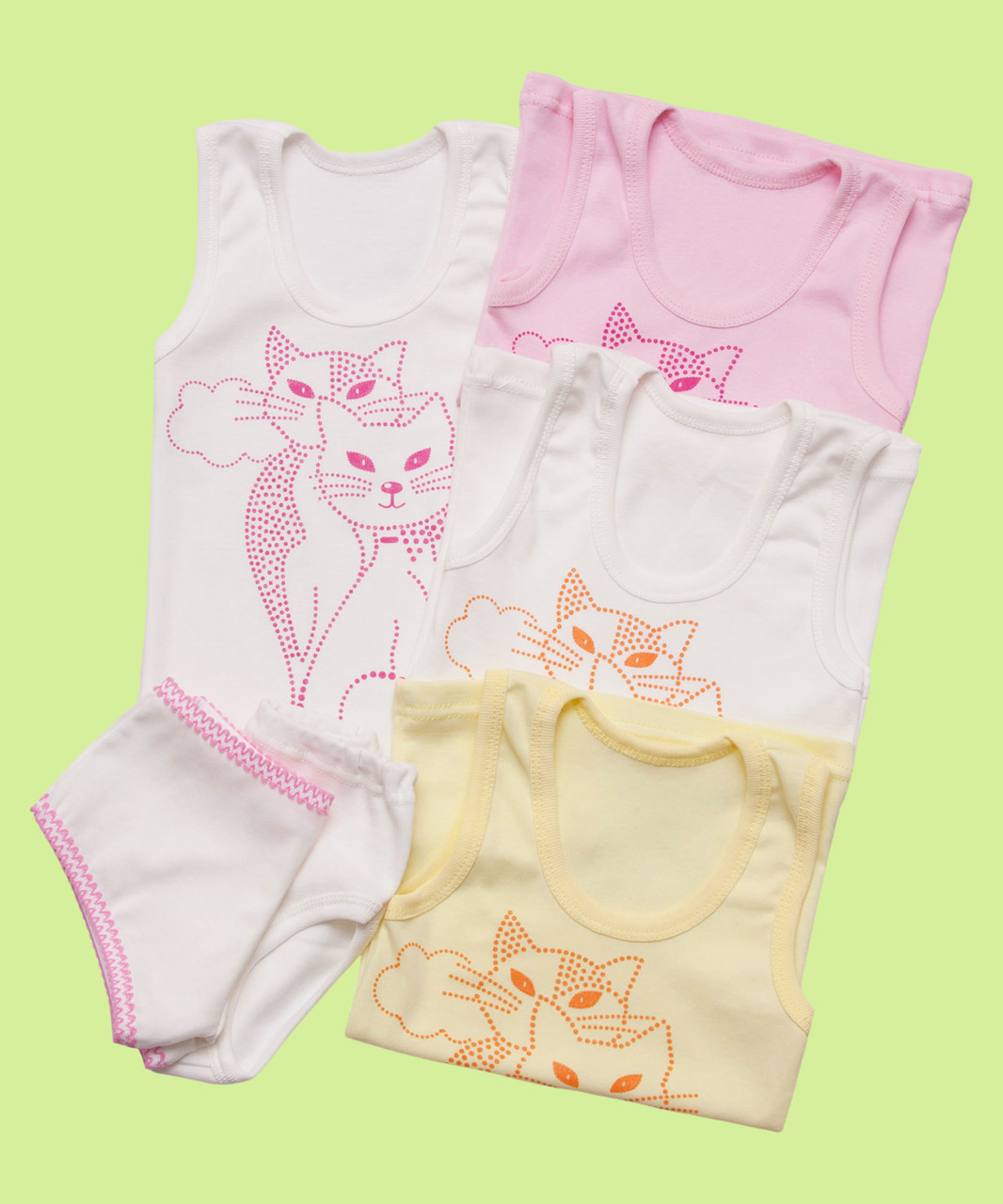 Комплект нижнего белья для девочки тройка, фото 1