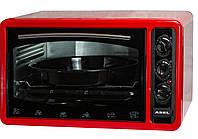 Электродуховка настольная ASEL AF - 0023 Турция объемом 33л - красная
