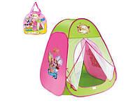 Детская палатка, домик для девочки 815 Винкс: самораскрывающаяся, 80х80х90 см, сумка 34х34х4 см