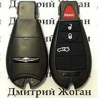 Корпус смарт ключа Chrysler (Крайслер) 3 кнопки + 1 (panic)