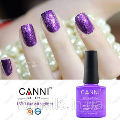 Гель-лак Canni 189, 7.3 мл