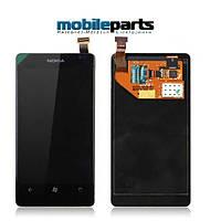 Оригинальный Дисплей (Модуль)+Сенсор (Тачскрин) для Nokia Lumia 920  (С рамкой)