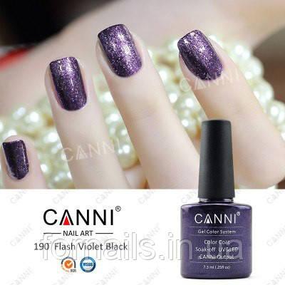 Гель-лак Canni 190, 7.3 мл