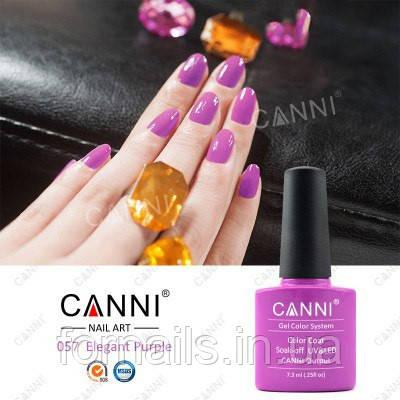 Гель-лак Canni 057, 7.3 мл
