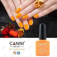 Гель-лак Canni 091, 7.3 мл