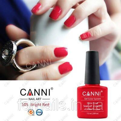 Гель-лак Canni 105, 7.3 мл