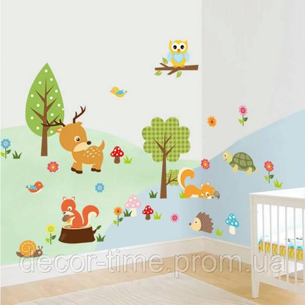 Интерьерная виниловая наклейка на стену (010109)