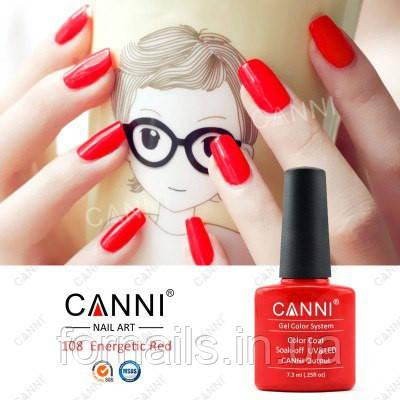 Гель-лак Canni 108, 7.3 мл