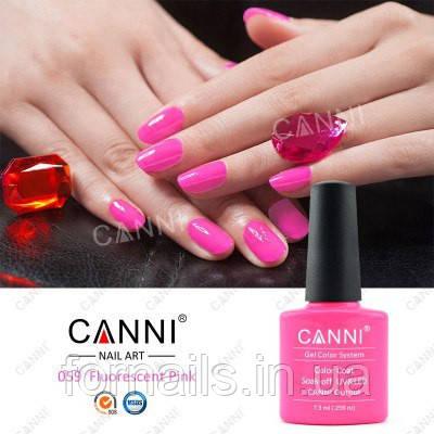 Гель-лак Canni 059, 7.3 мл