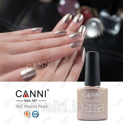 Гель-лак Canni 201, 7.3 мл