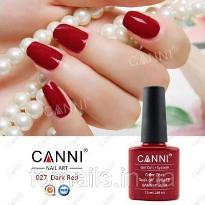 Гель-лак Canni 027