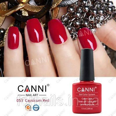 Гель-лак Canni 053, 7.3 мл