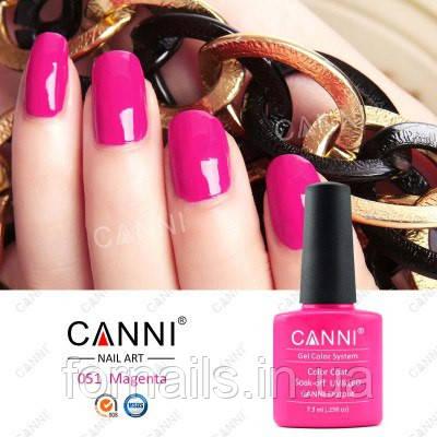 Гель-лак Canni 051, 7.3 мл