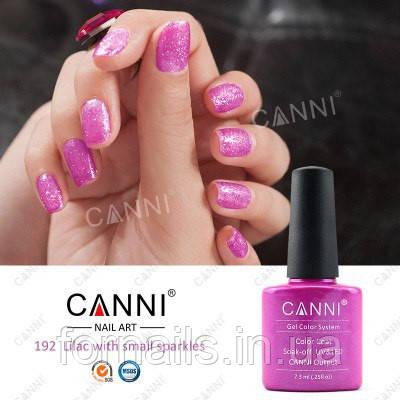 Гель-лак Canni 192, 7.3 мл