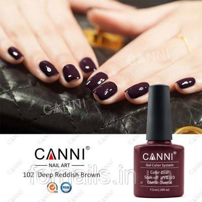 Гель-лак Canni 102, 7.3 мл