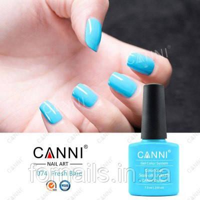Гель-лак Canni 074, 7.3 мл