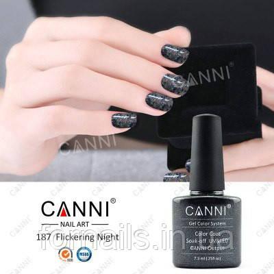 Гель-лак Canni 187, 7.3 мл