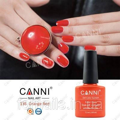 Гель-лак Canni 136, 7.3 мл