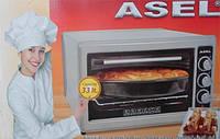 Электродуховка настольная ASEL AF - 0023 Турция объемом 33л - серая, фото 1