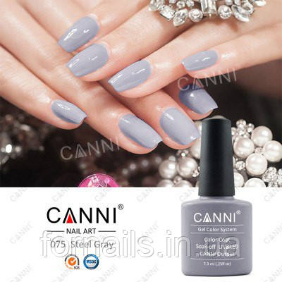 Гель-лак Canni 075, 7.3 мл