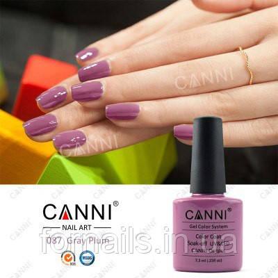 Гель-лак Canni 087, 7.3 мл