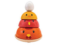 """Деревянная игрушка """"Куриное гнездо"""", PlanToys"""