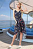 Шифонова асиметричне плаття для пляжу 42-48 розміри