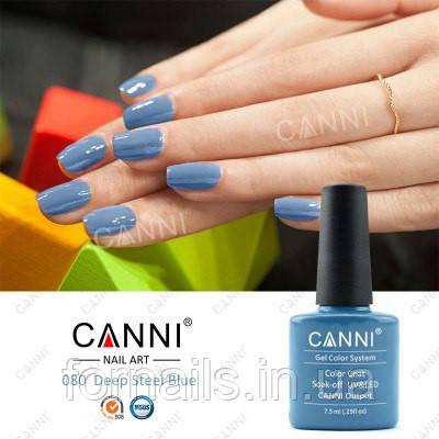 Гель-лак Canni 080, 7.3 мл