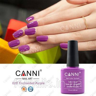Гель-лак Canni 020, 7.3 мл