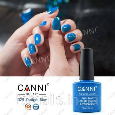 Гель-лак Canni 025, 7.3 мл