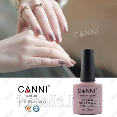 Гель-лак Canni 049, 7.3 мл