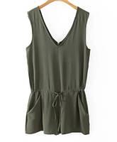 Летняя женская кофта с карманами