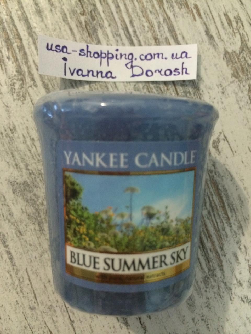 "Свеча ""Летнее небо голубое"" Yankee Candle"