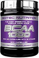 Аминокислоты BCAA 1000 (100 caps) Scitec Nutrition