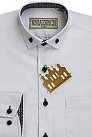 Белая классическая рубашка KNIAZHYCH