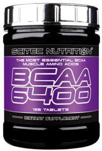 Аминокислоты BCAA 6400 (125 tab) Scitec Nutrition