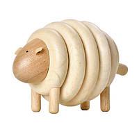 """Деревянная игрушка """"Овца из колец"""", PlanToys"""