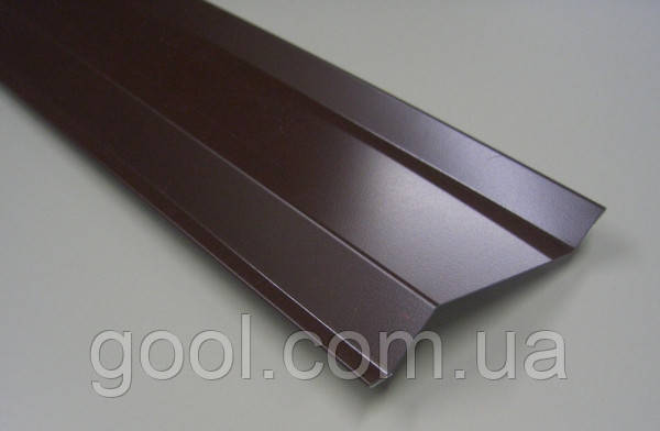 Притискна планка для фіксації шиповидной геомембрани алюміній 2 м. п.