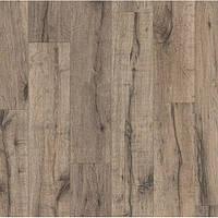 Ламинат Quick Step серии Eligna Wide доска дуба отреставрированного коричневого