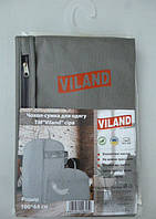 """Чехол-сумка для хранения одежды  """"Viland"""" флизелинновая серого цвета. Размер 100смх64 см."""
