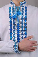 Мужская вышиванка сорочка с длинным рукавом