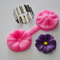 Вайнер для небольших цветков, платиновый силикон, для глины,мастики,полимерных масс