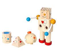 """Деревянная игрушка """"Конструктор робот"""", PlanToys"""