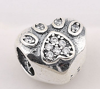 Шарм для браслета Пандора (Pandora) «Любимый питомец «, фото 1