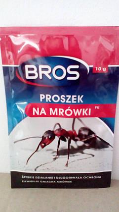 """Інсектицидний засіб """"BROS Порошок від мурашок"""" 10мл (шт.), фото 2"""