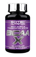 Аминокислоты BCAA-X (120 caps) Scitec Nutrition